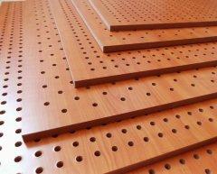 中山孔木吸音板,木质吸音板