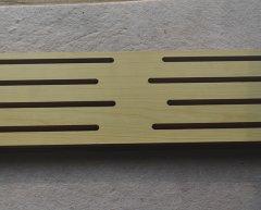 长条长孔吸音板,吸音板生产厂家,生态木吸音板